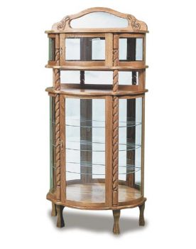 Family Room Rope Twist Deluxe Curio