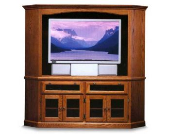HDTV Corner Entertainment Center