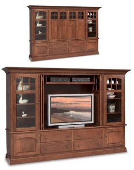 Deluxe TV Cabinet with Stereo Sides