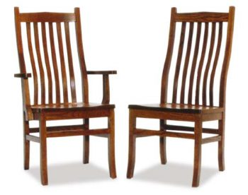 Prestige Mission Amish Dining Room Chairs