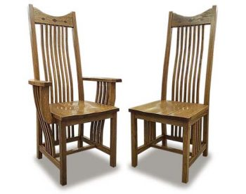 Classic Mission Amish Dining Room Chairs