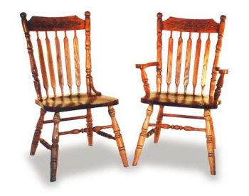 Amish Acorn Dining  Room Chairs