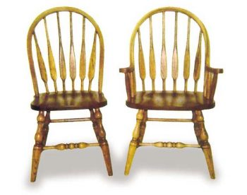 Low Feather Amish Dining Room Chairs