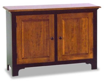 Low Fresno Jelly Cupboard Amish Dining Room Furniture