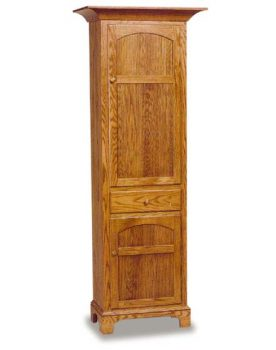 Amish New Bedford Shaker Chimney Cupboard