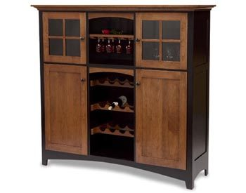 Painted Baltic French Wine Cabinet