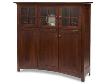 Shaker Baltic French Cabinet