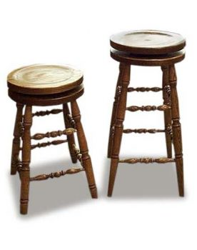 Amish Built Swivel Barstool