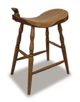 Western Saddle Barstools