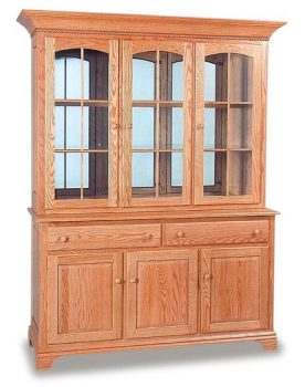 Deluxe Amish Dining Room Hutch