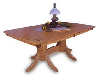 Classic Shaker Dining Room Table | Amish Dining Room Furniture ...