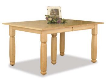 Estate Leg Dining Room Table