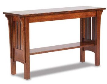 Mission Amish Sofa Table
