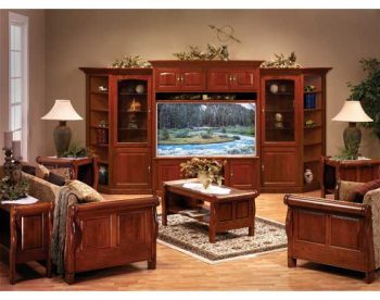 Windsor Furniture Suite with Widescreen Entertainment Center