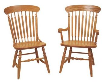 Quaker Side and Arm Chairs