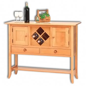 Shaker Hill Sideboard with Wine Rack