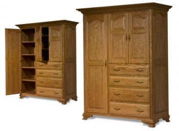 Amish Chifforobe from Crown Villa Collection