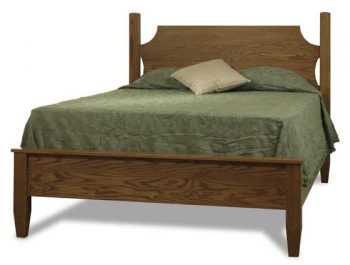 Amish English Shaker Ridge Bed