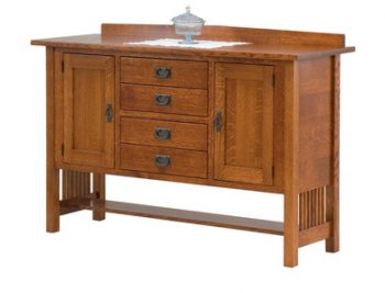 Berkely Mission Amish Sideboard