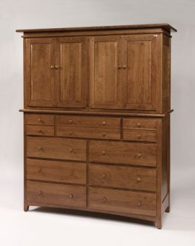 Amish Bedroom Elliot Ridge Mule Chest