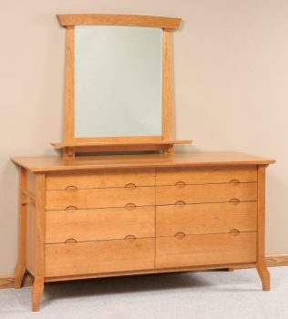 Amish Dressers and Mirrors from the Grand River Collection