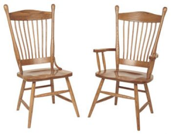 Amish Buckeye Dining Room Chairs