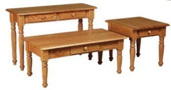 Colonial Fluted Tables