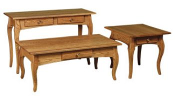 French Country Amish Occasional Tables