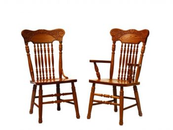 Pressback Amish Dining Room Chairs