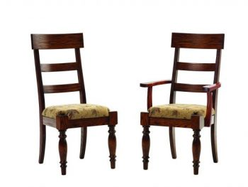 Tall Formal Ladder Back Chairs