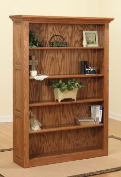 Traditional Raised Panel Bookcase