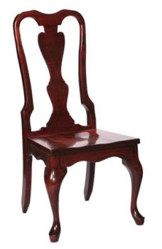 Victorian Queen Anne Dining Room Chairs