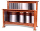 Amish Fresno Mission Slat Bed (1054-17)