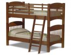 Colonial Amish Bunk Bed (1064-03)