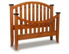 Bunker Hill Amish Bed (1012-17)