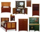 Amish Youth Bedroom Furniture Collection