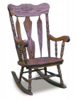 Amish Daisy Rocker (5305-31)