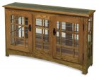 Amish Large Mission Console Curio (4021-12)