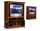 Flat Wall HDTV Entertainment Centers