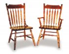 Alternate View of Amish Acorn Dining  Room Chairs