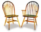 Low Arrow Amish Dining Room Chairs