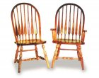 High Feather Amish Dining Room Chairs (0104-19)