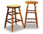 Turned Leg Amish built Barstools (0709-19)