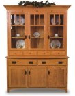 Classic Mission 3 Door Hutch (0210-14)