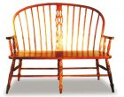 Windsor Slot Bench from Amish builders (5109-19)
