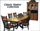 Alternate View of Classic Shaker Dining Room Furniture