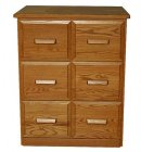 Amish Double Vertical File Cabinets (2112-45)