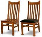 Alternate View of Manhattan Chairs from Amish Builders