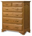 Crown Villa Amish Chest of Drawers (1167-72)