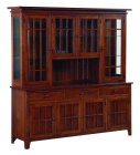 Spruce Creek Amish 4 Door Hutch (0281-34)